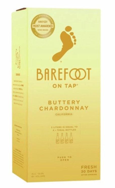 Barefoot box Buttery Chardonnay 3Li