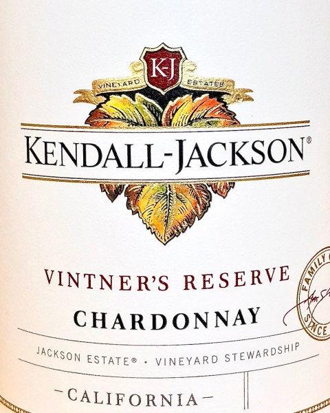 KENDALL JACKSON CHARDONNAY -  750ML