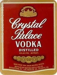 CRYSTAL PALACE VODKA -  1L