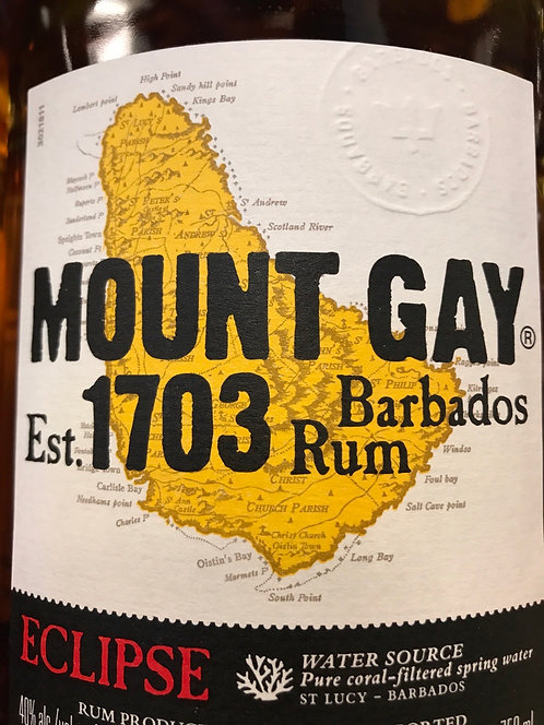 MOUNT GAY ECLIPSE AMBER 750ml