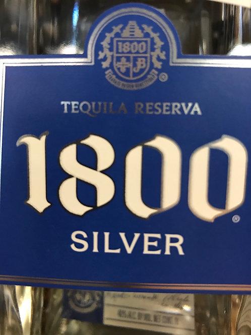 1800 TEQUILA SILVER -  1L