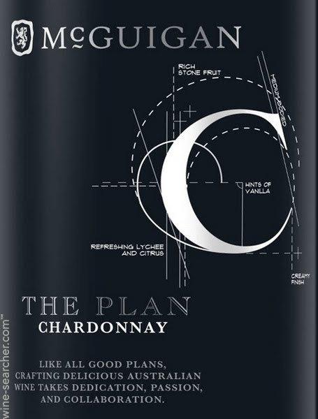 MCGUIGAN THE PLAN CHARDONNAY -  750ML