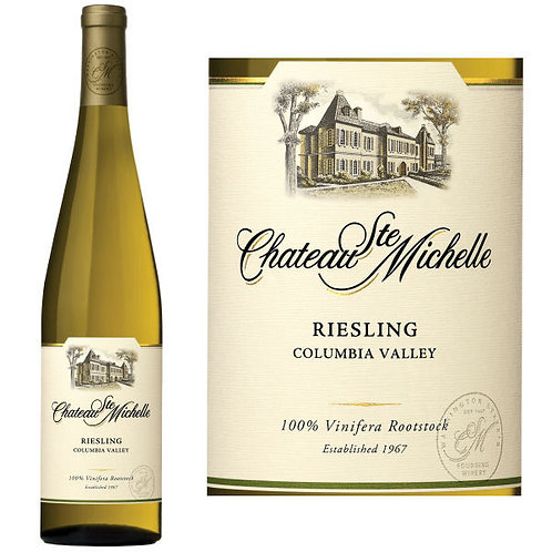 CHATEAU ST MICHELLE  RIESLING -  750ML
