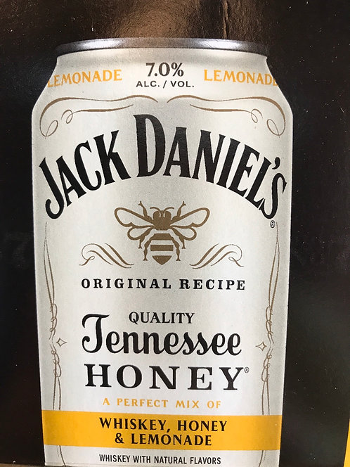 Jack Daniels honey & lemonade 355ml 4pack
