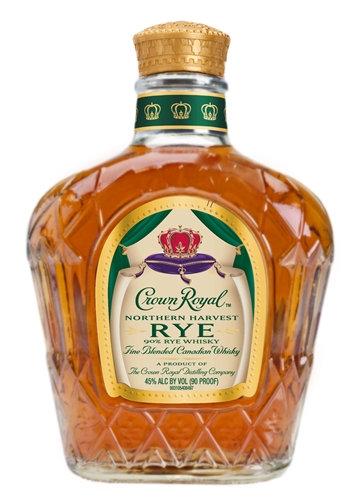 CROWN ROYAL HARVEST RYE -  375ML