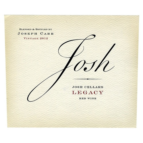 JOSH LEGACY RED BLEND -  750ML