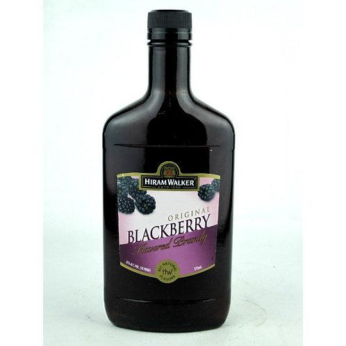 HIRAM WALKER BLACKBERRY BRANDY -  375ML