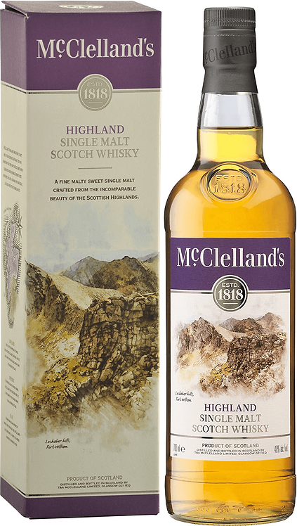 MCCLELLANDS HIGHLANDS SCOTCH -  750ML