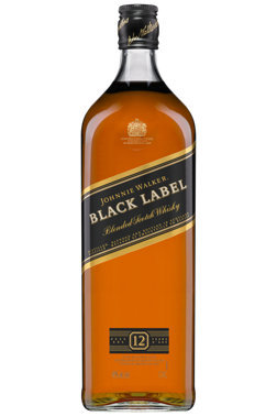 JOHNNIE WALKER BLACK SCOTCH 12 YR -  1.75L