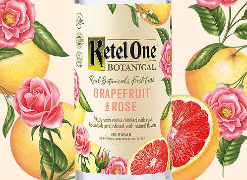 KETEL ONE GRAPEFRUIT ROSE -  1L