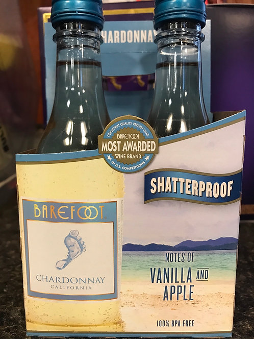 Barefoot Chardonnay 4pack 187ml