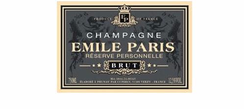 Emile Paris Champagne brut 750ml
