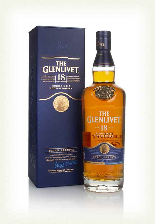 GLENLIVET 18yr 750ML