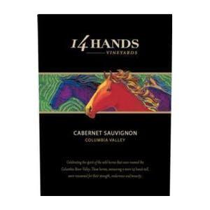 14 HANDS MERLOT -  750ML