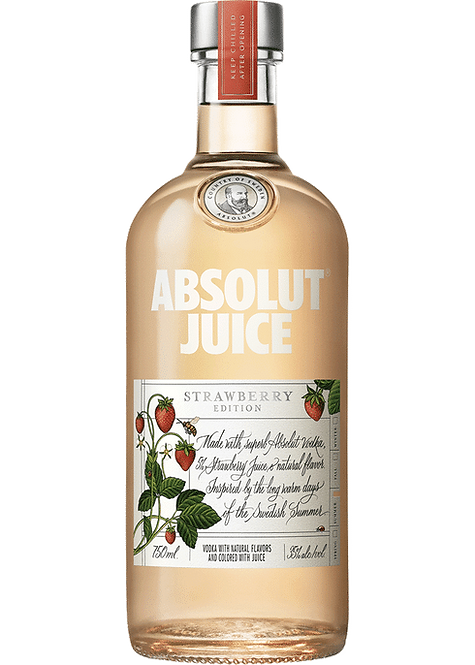 ABSOLUT JUICE STRAWBERRY 1 LI