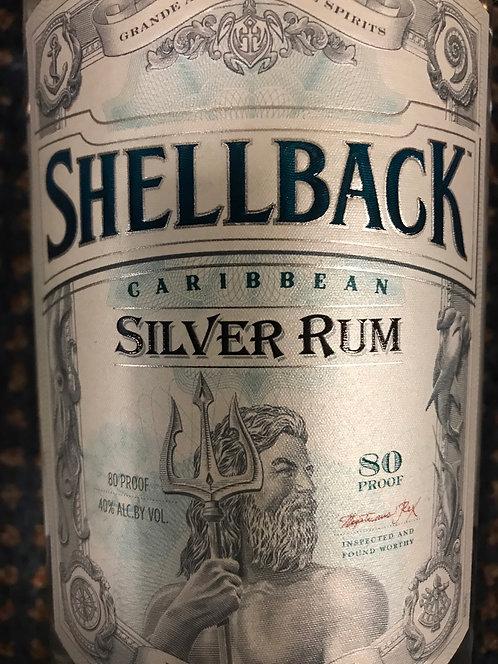 SHELLBACK SILVER RUM -  1L