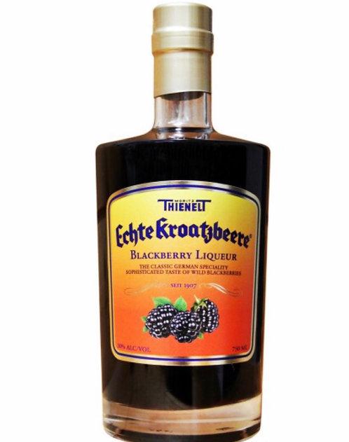 ECHTE KROATZBEERE BLACKBERRY LIQUEUR -  750ML