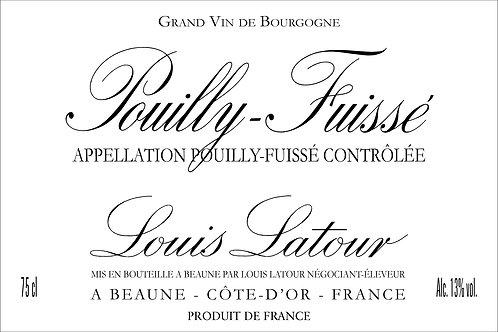 LOUIS LATOUR POUILLY FUISSE -  750ML