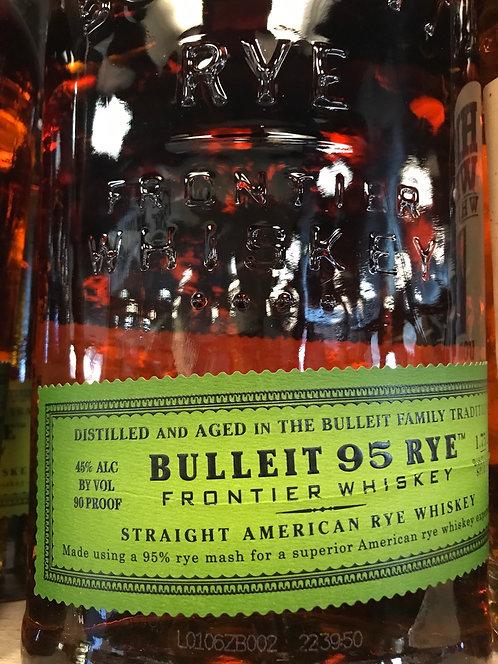 BULLEIT RYE  -  1.75L