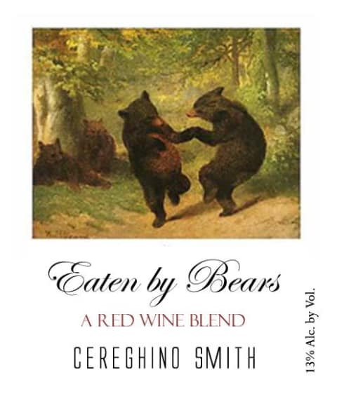 CEREGHINO SMITH EATEN BY BEARS -  750ML