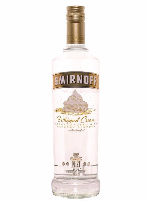 Smirnoff vodka whipped cream 1Li