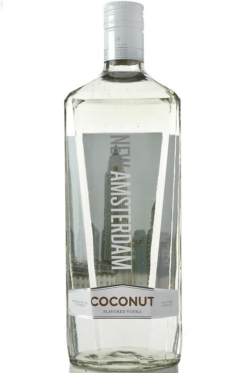 NEW AMSTERDAM COCONUT VODKA -  1.75L