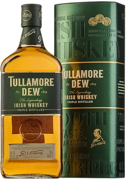 TULLAMORE DEW IRISH WHISKEY -  1L