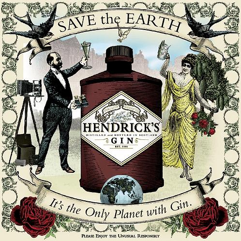 HENDRICKS GIN -  750ML
