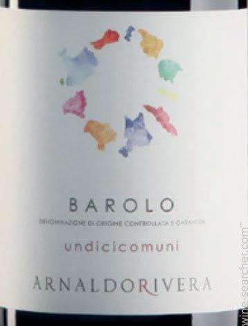 ARNALDORIVERA UNDICICOMUNI BAROLO -  750ML