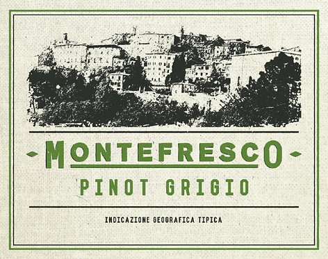 MONTEFRESCO PINOT GRIGIO 750ML