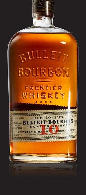BULLEIT BOURBON 10YO 91.2 -  750ML