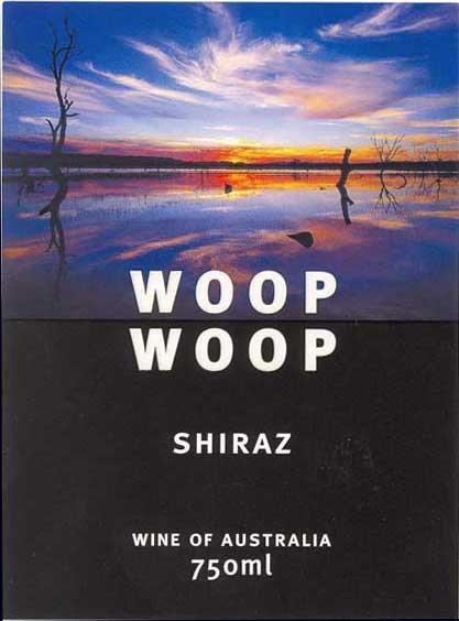 WOOP WOOP SHIRAZ -  750ML