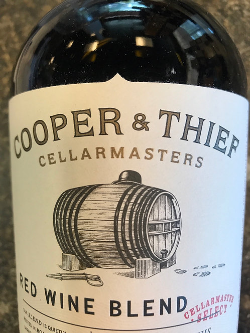 COOPER AND THIEF BARREL AGED CABERNET -  750ML