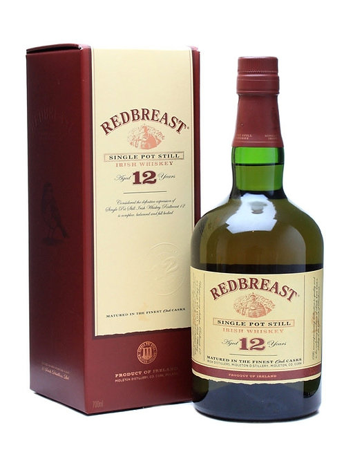 REDBREAST IRISH WHISKEY 12 YR -  750ML