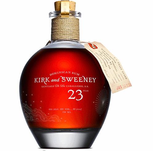 KIRK & SWEENEY 23YR RUM -  750ML