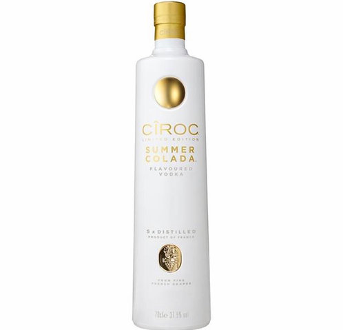 Ciroc summer colada vodka 750ml