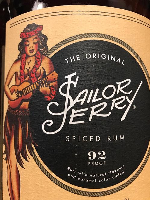 SAILOR JERRY RUM SPICED -  1L