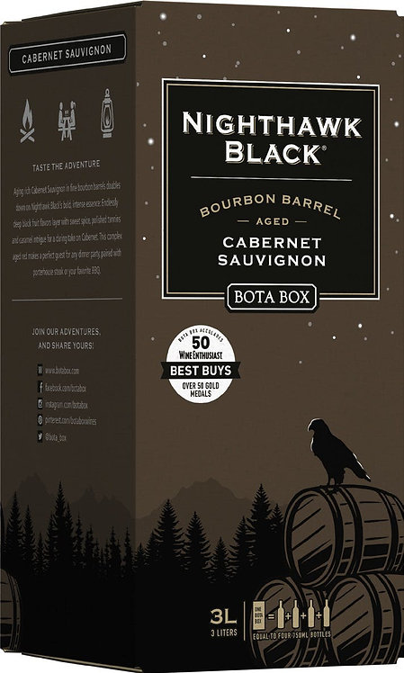 BOTA BOX NIGHTHAWK BOURBON BARREL CAB 3LI