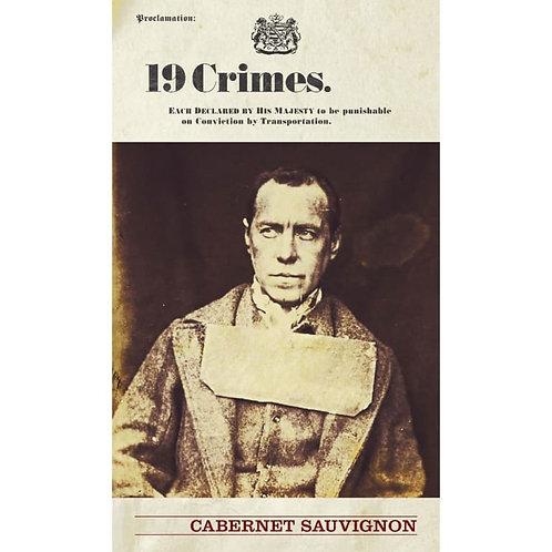 19 CRIMES CABERNET SAUVIGNON 750ML