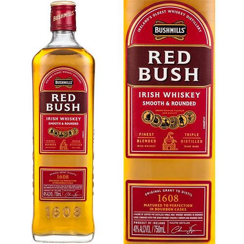 BUSHMILL RED BUSH WHISKEY 750ML