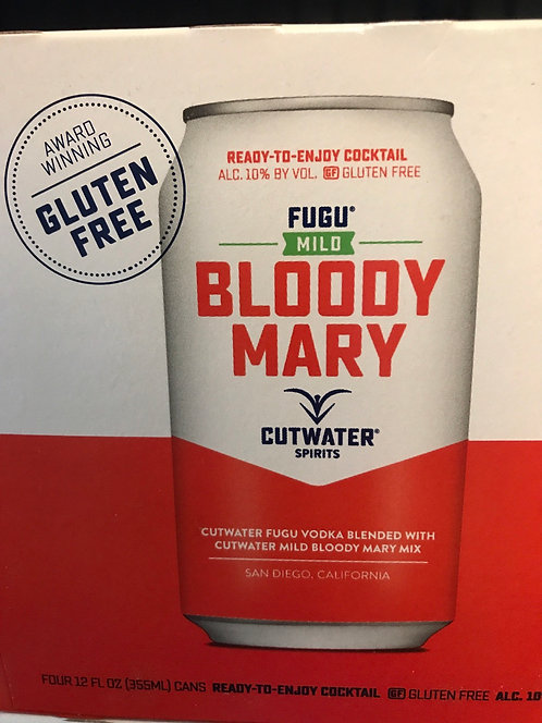 Cutwater mild Bloody Mary 355ml 4pack