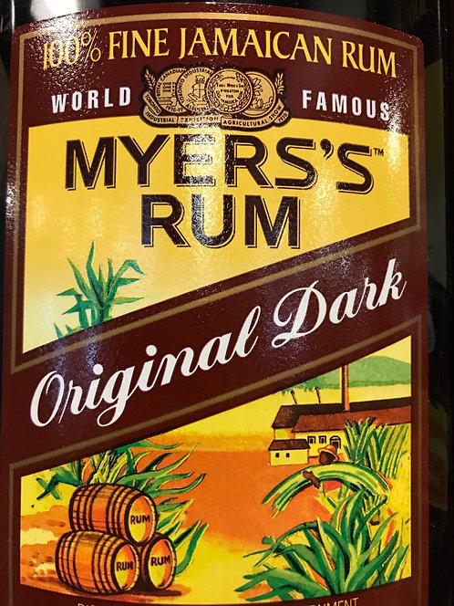 MYERS RUM DARK -  750ML
