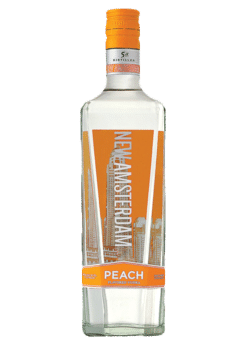 NEW AMSTERDAM PEACH VODKA -  1L