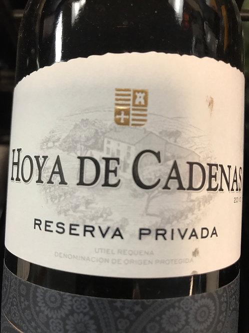 HOYA DE CADENAS PRIVATE RESERVE -  750ML