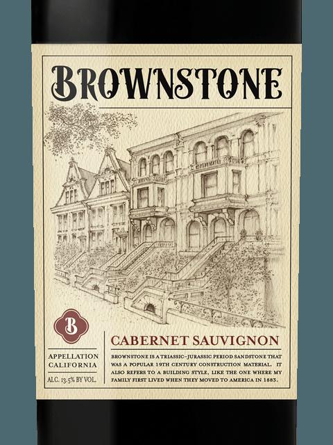 BROWNSTONE CABERNET -  750ML