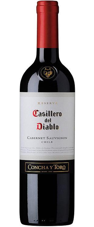 CONCHA CASILLERO CABERNET -  750ML