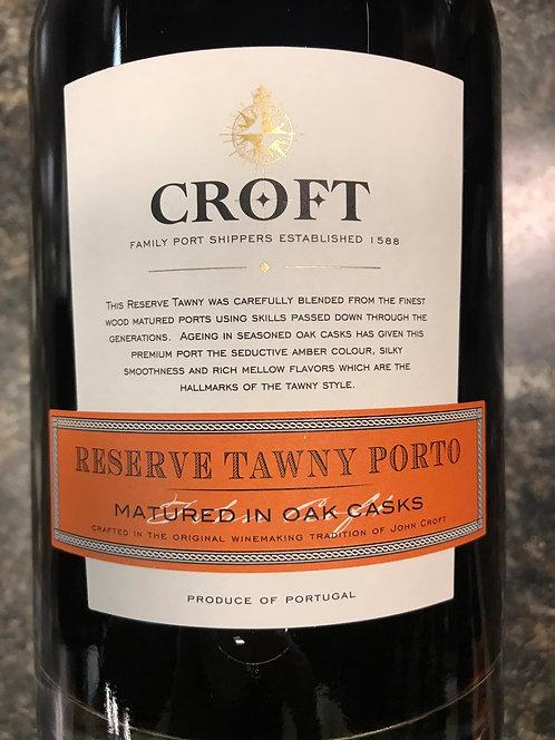 CROFT TAWNEY PORT RESEVE 7YO -  750ML