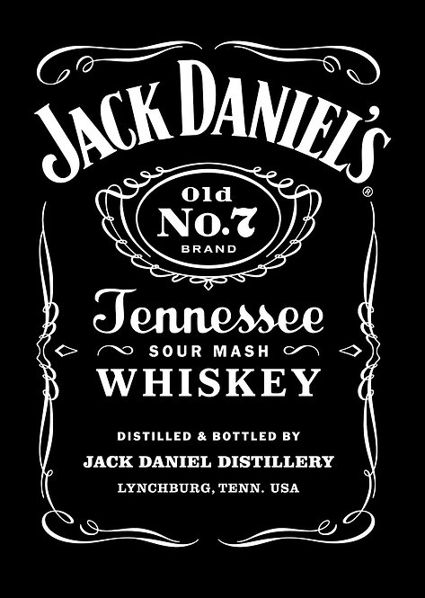 JACK DANIELS WHISKEY -  375ML