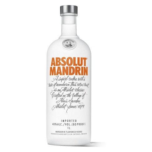 ABSOLUT MANDRIN -  1L