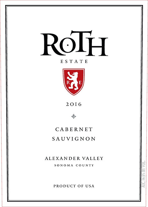 ROTH CABERNET SAUVIGNON -  750ML